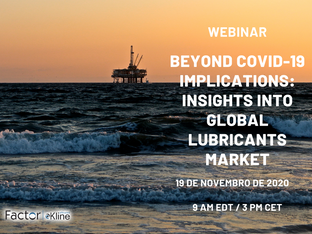 "Assista o Webinar ""Beyond COVID-19 Implications: Insights Into Global Lubricants Market"""