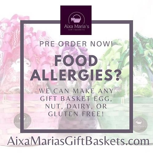 Custom Allergen Free Gift Basket