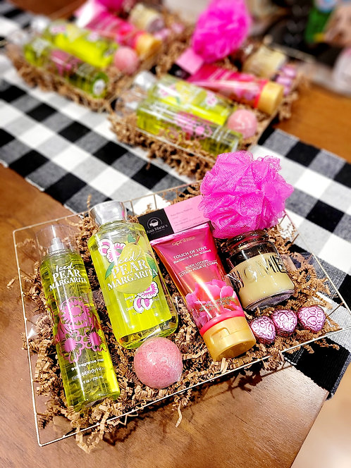 Women's BBW Spa Gift Basket