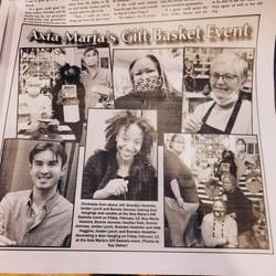 Kernersville Newspaper for Valentine's DIY
