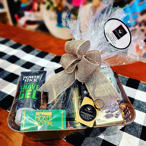 Men's BBW Shower Gift Basket