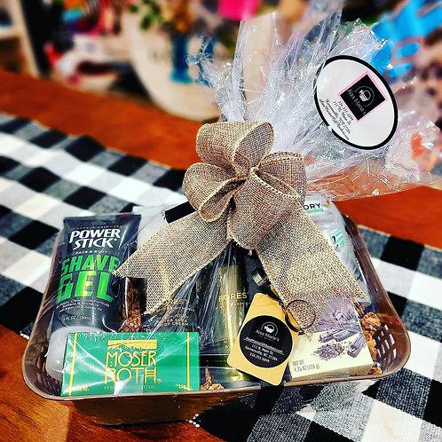 Men's BBW Shower Gift Basket