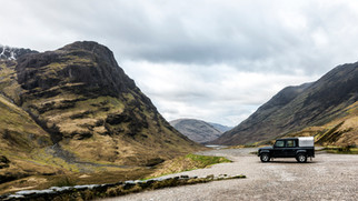 Adventure. Glencoe, Scotland