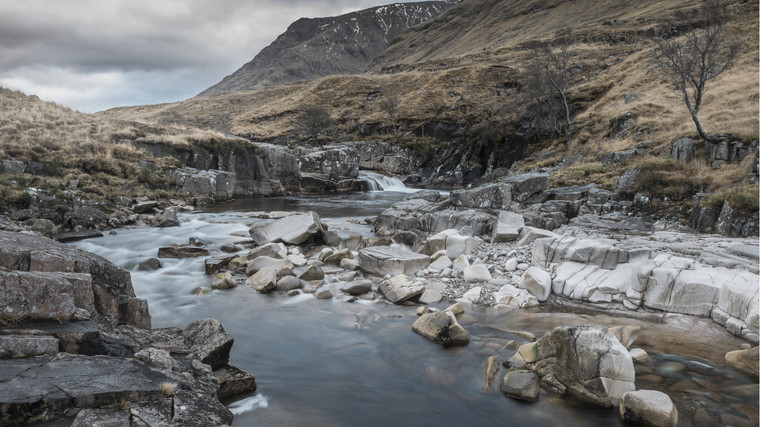 Landscape. Glen Etive, Scotland