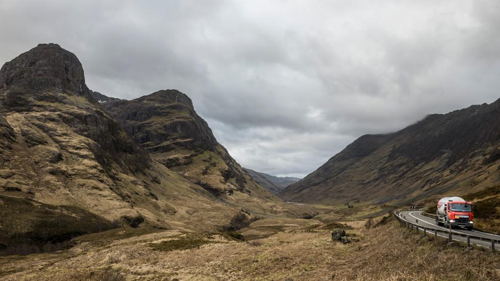 Landscape. Glencoe, Scotland
