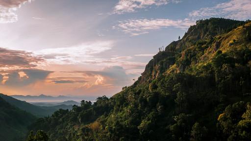 Landscape. Ella Rock, Sri Lanka