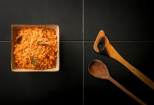 Rice dish. Oremeji