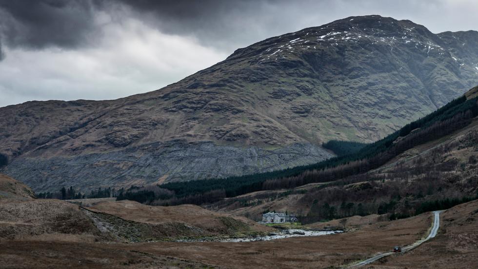 Adventure Photography. Glen Etive, Scotland