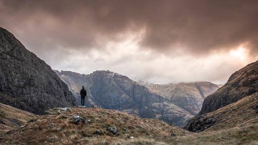 Adventure. Stob Coire, Scotland