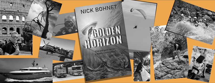 nick bohnet golden horizon author