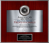 America's Most Honored Professionals Award