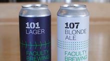 101 Lager vs 107 Blonde Ale