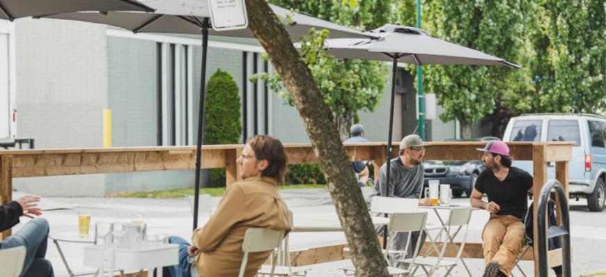 Visit our patios.