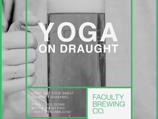 Yoga On Draught - Yoga Classes