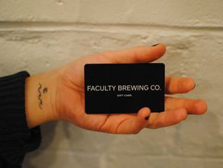Faculty Gift Cards