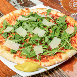R&B Pizza at Faculty Brewing
