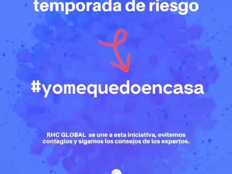 En RHC Global nos unimos a #QuédateEnCasa