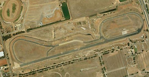 Adelaide International Raceway AIR satellite map
