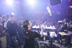 Flair show in nightclub