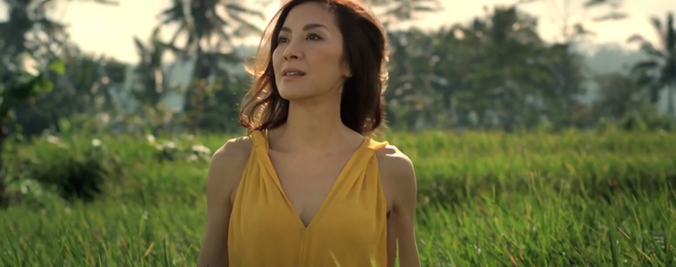 Michelle Yeoh for Guerlain