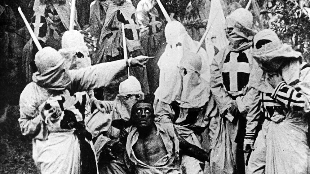 Image from D.W. Griffith's 1915 historically cinematic and masterpiece film.