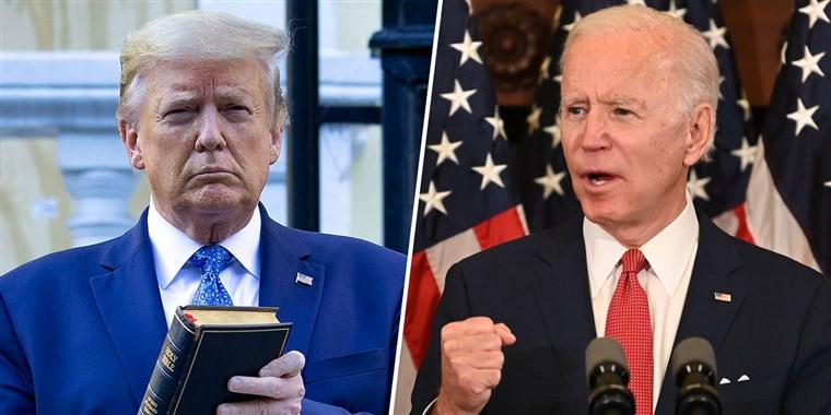 Joe Biden, Donald Trump, Vote, 2020 Election, nbcnews