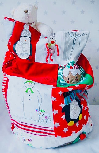 Christmas or Birthday Memory Sack