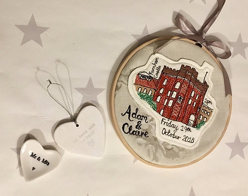 Wedding Church/Venue Celebration Hoop
