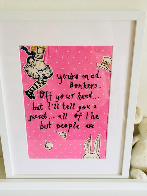 Bespoke Quote Freehand Machine Embroidery Commissions