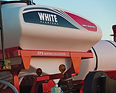 white planter 9000 series central fill