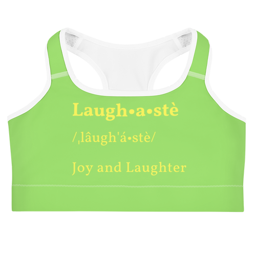 Laughaste' Sports bra