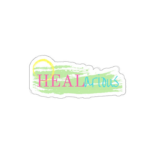 HEALarious Kiss-Cut Stickers