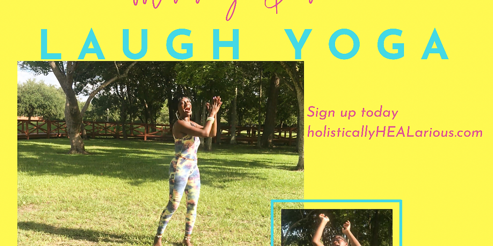 Mommy & me laugh yoga