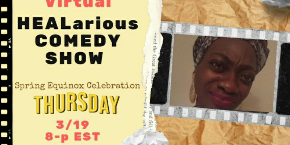 A virtual HEALarious Comedy show