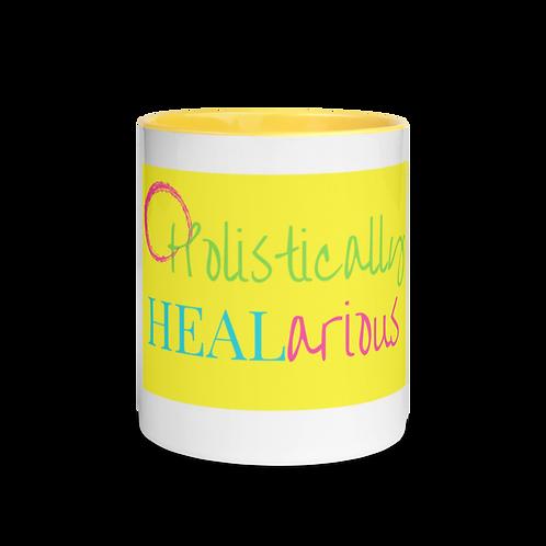 Holistically HEALarious Mug with Color Inside