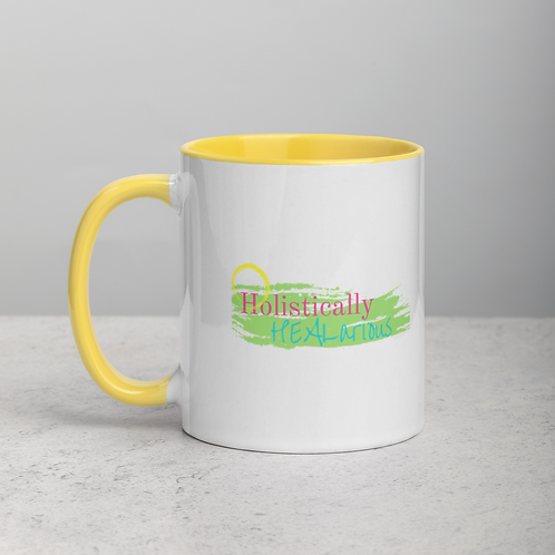 Holistically HEALarious Mug with Color Inside