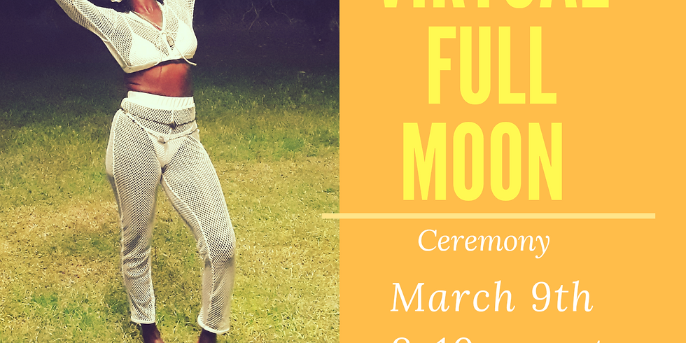 Laughter and RAlease virtual Full Moon Ceremony