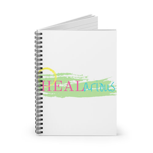 HEALarious Spiral Notebook - Ruled Line