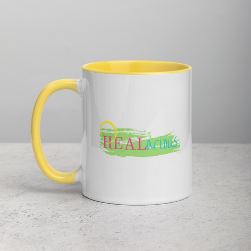 HEALarious Mug with Color Inside