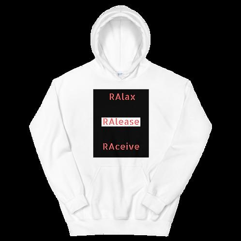 Men's RAlax, RAlease,  RAceieve Hoodie