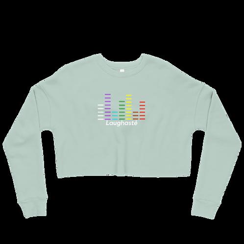 Ladies Laughaste Crop Sweatshirt