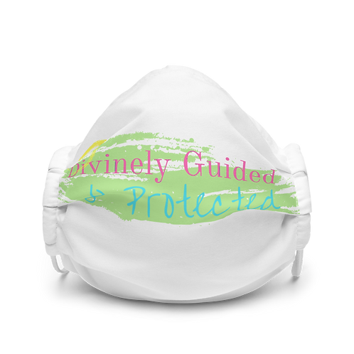Divinely Guided And Protected Premium face mask