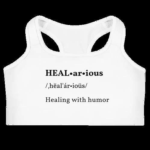 HEALarious Sports bra