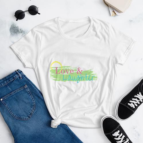 Love & Laughter Women's short sleeve t-shirt