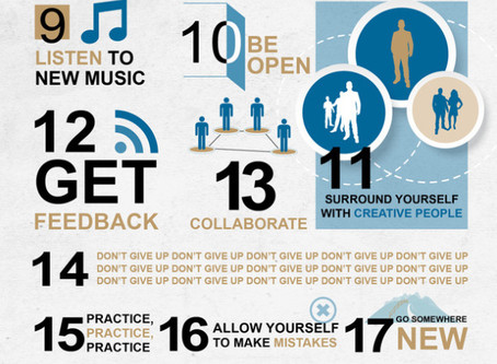 29 Ways to be Creative