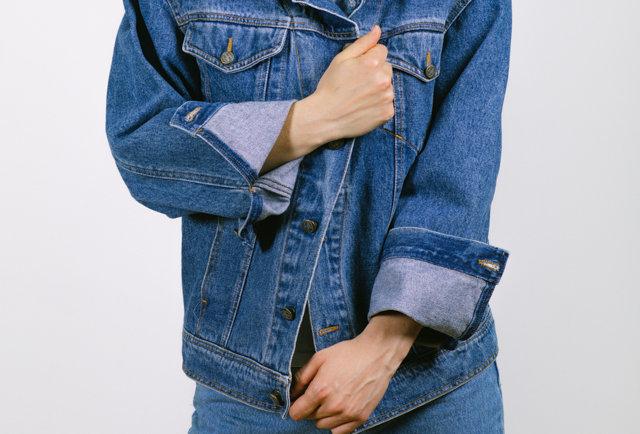 Classic denim jacket by Trussardi