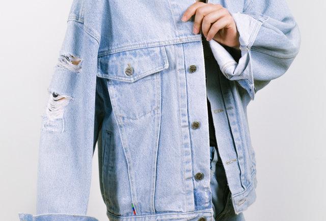 Vintage denim jacket by HIS