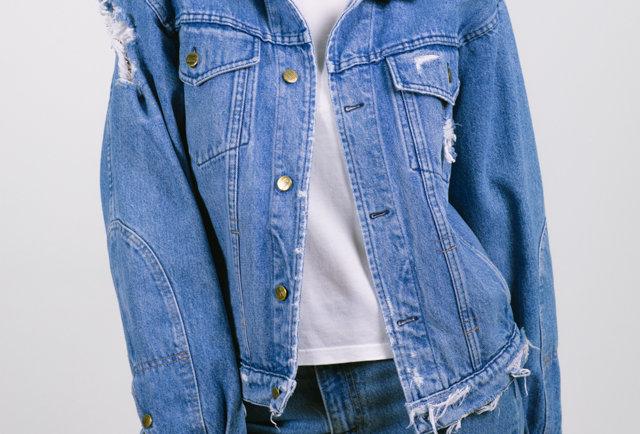 Classic denim jacket by Enrico Coveri