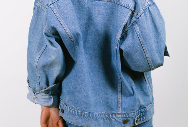 Vintage denim jacket by Valentino