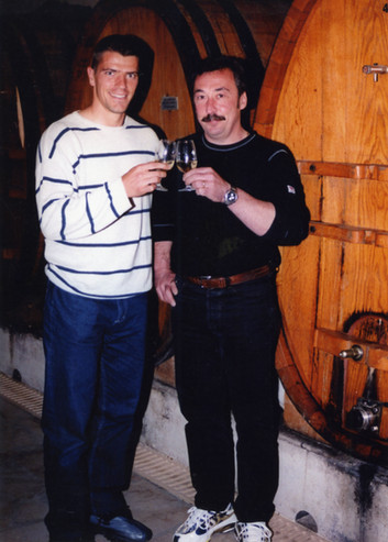 Gillet Noblet accompagné de Grégory Coupet